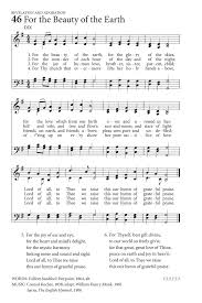 for the of the earth hymnary org