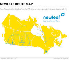 Halifax Canada Map by Will Newleaf Succeed Where Other Cheap Canadian Airlines Have