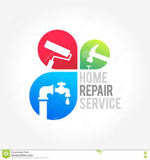 home repair maintenance and symbol of a house stock vector