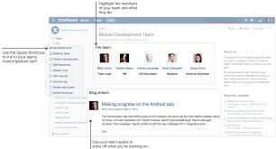 confluence architecture confluence 101 organize your work in spaces atlassian collaboration