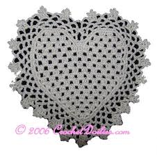heart doily lovely heart doilies to crochet 14 free patterns grandmother s