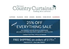 Country Curtains Promo Code Country Curtains Promotion Code 2017 Memsaheb Net