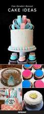 gender reveal party cakes popsugar moms