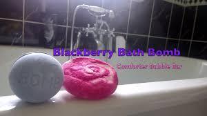 The Comforter Bubble Bar Blackberry Bath Fizz U0026 Comforter Bubble Bar Lush Demo Video