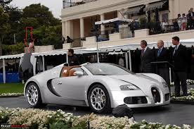 yellow and silver bugatti bugatti veyron grand super sport revealed as bugatti veyron