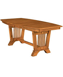 liberty mission dining table amish direct furniture liberty amish trestle table