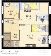 plan maison etage 3 chambres maison méditerranéenne 3 dé du plan de maison méditerranéenne