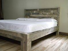 Reclaimed Wood Headboard King Handcrafted Reclaimed Wood Bed With A Distressed Finish Product