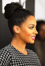 high bun hairstyle african american best hairstyle photos on