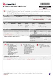 8 best images of receipt for airline ticket e ticket itinerary