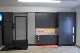 storage cabinets with doors and shelves for garage best home