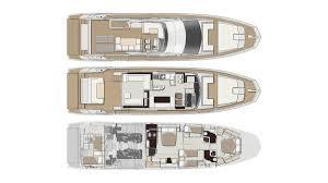 Luxury Yacht Floor Plans by Azimut 66 Yacht Interior Design Italian Style New Yacht Interiors