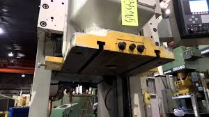 komatsu h1f 80 cs 11 single crank servo gap frame press youtube