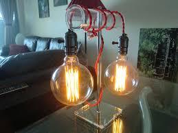 vintage style edison light bulb table lamp igor kromin