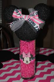 minnie mouse center pieces petticoats and pigtails minnie mouse birthday