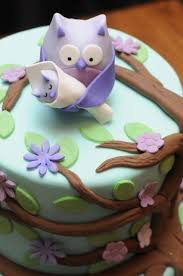 owl baby shower cake purple owl baby shower cake cakes by caralin