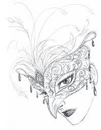 mask rough sketch by aruarian dancer on deviantart