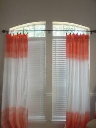 Sheer Coral Curtains Unique Curtains Sheer Coral Curtains Ombre Curtains On Sheer