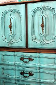 Painted Armoire Furniture Turquoise French Provincial Furniture The Weekend Country