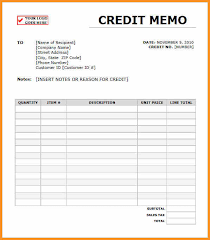 memo invoice request for credit memo 7 credit memo examplessample