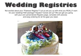 how to set up wedding registry wedding registries 4corners riversports