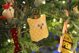 Couple First Christmas Ornament No Ordinary Sparrow December 2013