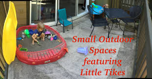 small outdoor spaces small outdoor spaces sandbox little tikes