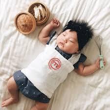 Halloween Costume 6 Month Sleeping Baby Idea Star Cosplay