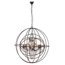 Sphere Ceiling Light Metal Sphere Chandelier Ceiling Light Lighting Mulberry Moon