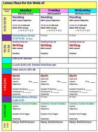 free daily lesson plan template editable fantastic teaching