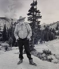ansel adams yosemite and the range of light poster adams at olmsted point yosemite by chuck henningsen
