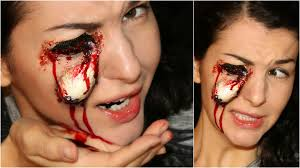 Youtube Halloween Makeup by Pop Out Missing Eye U2014 Special Fx Halloween Makeup Tutorial Youtube