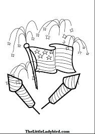 us flag coloring page holiday pages fireworks new years eve safety