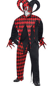 Halloween Costumes Jester Krazed Jester Costume Party