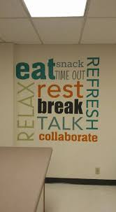 target the breakroom not working on black friday great colors for this custom uppercaseliving breakroom design