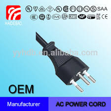 switzerland sev three wire power cord power cable types buy