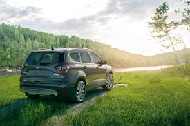 green subaru forester 2016 2018 subaru forester vs 2018 ford escape comparison review by