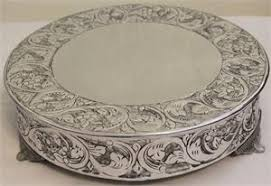 14 cake stand grand silver wedding cake stand plateau 14 inch