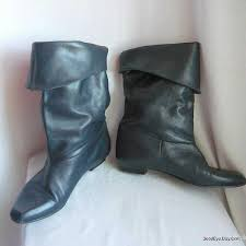 womens boots uk size 10 womens boots 80s leather slouch boots size 10 m eur 42 uk 7 5
