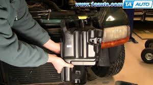 2000 dodge durango change how to install replace radiator engine coolant bottle dodge