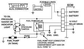 1989 gmc sierra fuel pump to feul pump relay and oil pressu