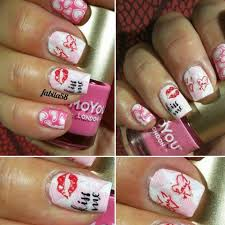 all about love 01 nail stamping plate