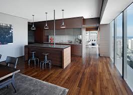 cuisine plancher bois plancher bois décoration intérieure revêtement sol intérieur