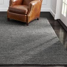 Mad Mats Outdoor Rugs Salome Charcoal Grey Indoor Outdoor Rug Crate And Barrel