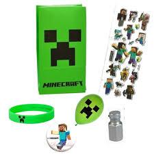 minecraft party favors party favor bag