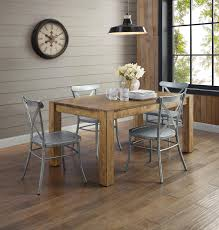 better homes and gardens bryant dining table rustic brown better homes and gardens bryant dining table rustic brown