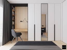 almirah designs with mirror