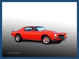 1972 camaro z28 wallpaper orange sport coupe