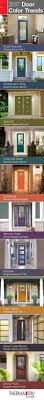 Accent Door Colors by Best 25 Painted Exterior Doors Ideas On Pinterest Painting