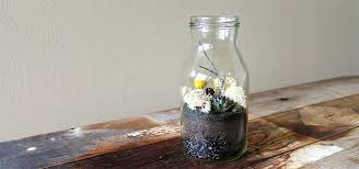 milk bottle u201d terrarium planted pots